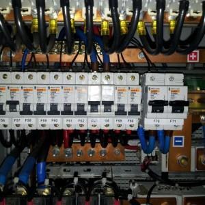 budowa linii zasilających, przyłączy oraz układów pomiarowych