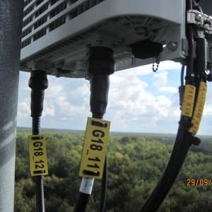 podłączenie przewodów do nadajników